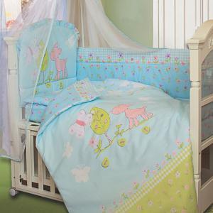 """Комплект в кроватку Little friend ― """"Золотой Гусь"""" Товары для новорожденных"""