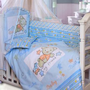 """Комплект в кроватку zoo bear ― """"Золотой Гусь"""" Товары для новорожденных"""