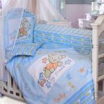 Комплект в кроватку zoo bear
