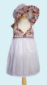 """Платье в цветочек розовое ― """"Золотой Гусь"""" Товары для новорожденных"""